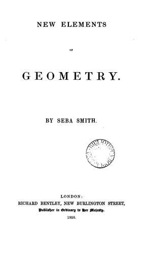 New elements of geometry