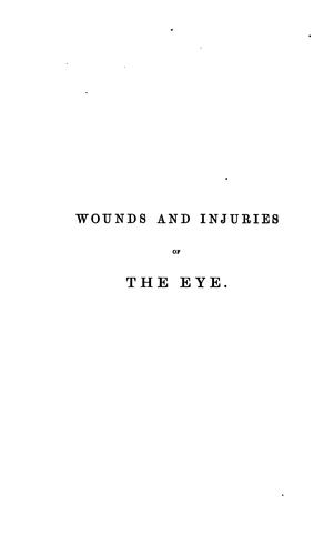 On wounds and injuries of the eye