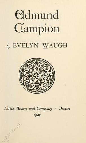 Download Edmund Campion