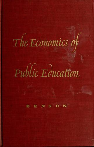 The economics of public education.