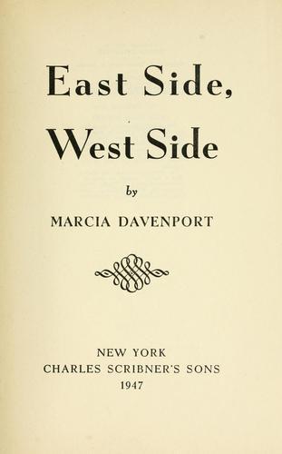 East side, west side.