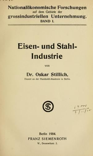 Download Eisen- und Stahl- Industrie.