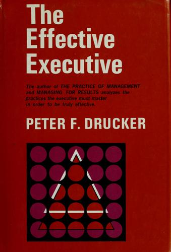 Download The effective executive