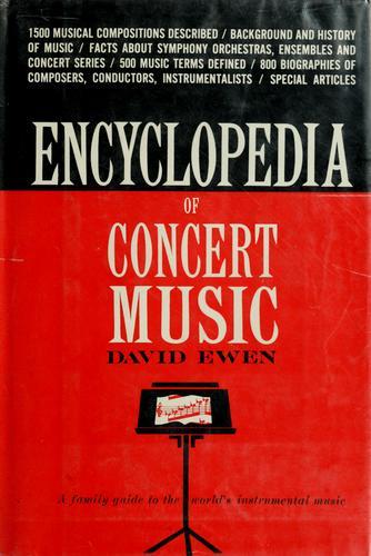 Encyclopedia of concert music.