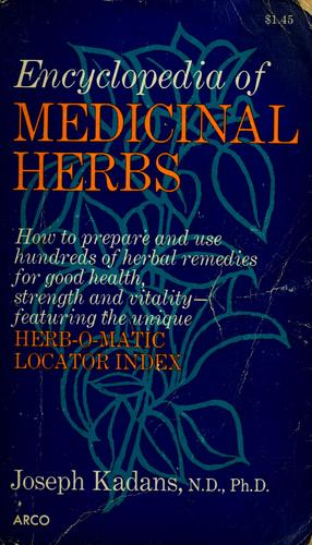 Encyclopedia of medicinal herbs