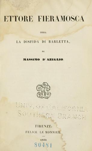 Download Ettore Fieramosca