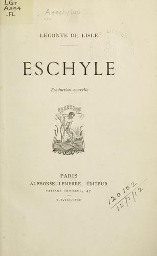 Eschyle