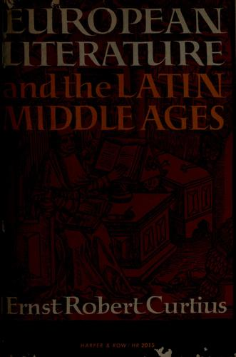 European literature and the Latin Middle Ages.