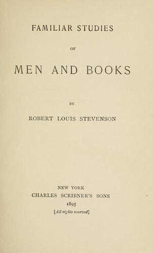 Download Familiar studies of men and books