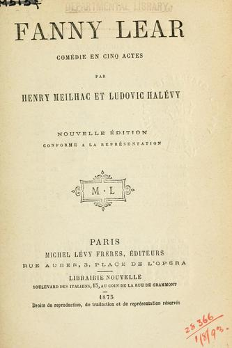 Download Fanny Lear