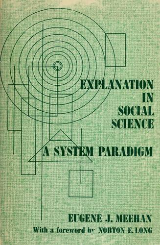 Download Explanation in social science