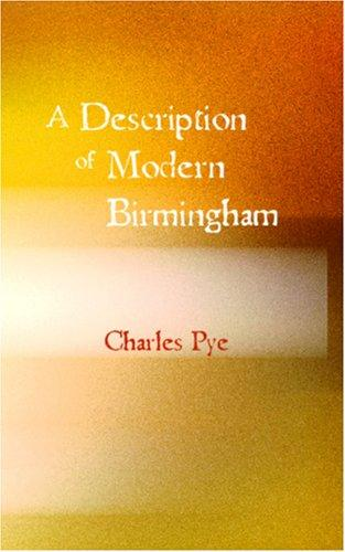 Download A Description of Modern Birmingham
