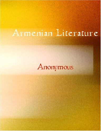 Download Armenian Literature (Large Print Edition)
