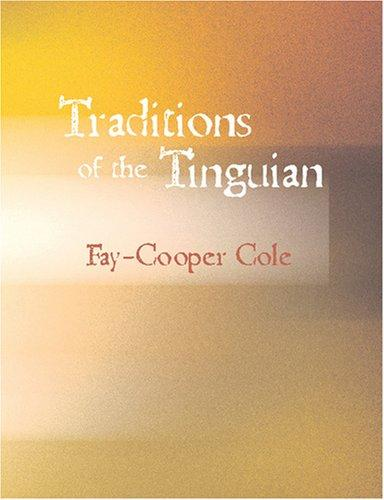 Traditions of the Tinguian (Large Print Edition)