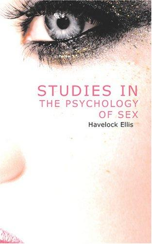 Download Studies in the Psychology of Sex, Volume 3