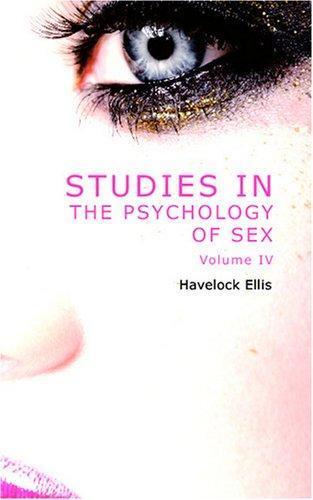 Studies in the Psychology of Sex, Volume 4