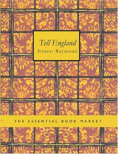 Tell England (Large Print Edition)