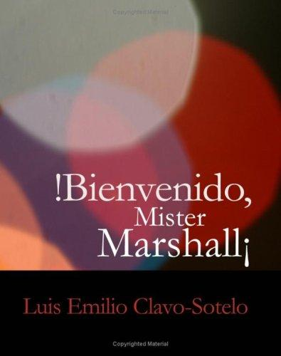 Download Bienvenido, Mister Marshall (Large Print Edition)