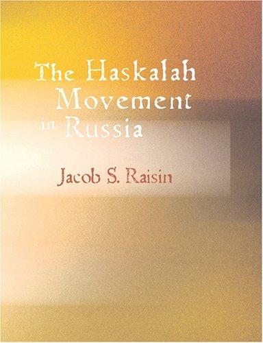 Download The Haskalah Movement in Russia (Large Print Edition)