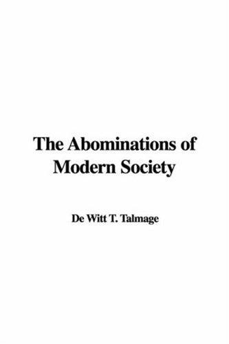 Download The Abominations of Modern Society