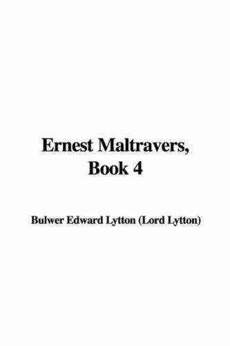 Ernest Maltravers, Book 4