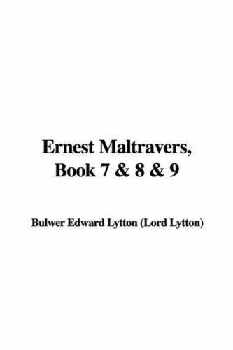 Download Ernest Maltravers, Book 7 & 8 & 9
