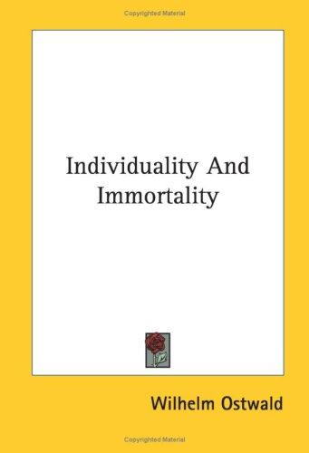 Download Individuality And Immortality