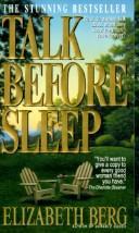 Talk before sleep.