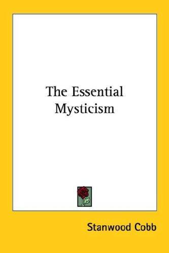 Download The Essential Mysticism