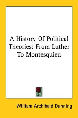 A History Of Political Theories