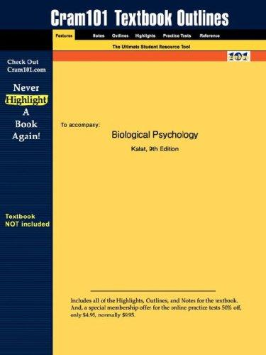 Download Biological Psychology (Cram101 Textbook Outlines – Textbook NOT Included)