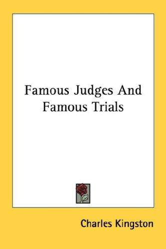 Download Famous Judges And Famous Trials