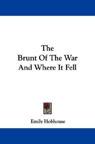 The Brunt Of The War And Where It Fell
