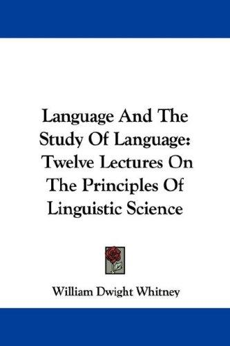 Download Language And The Study Of Language