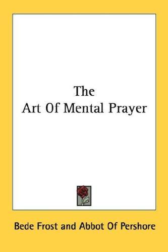 Download The Art Of Mental Prayer