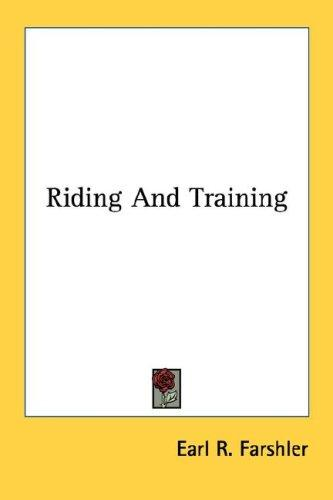 Download Riding And Training