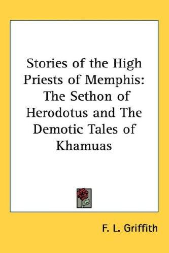 Download Stories of the High Priests of Memphis