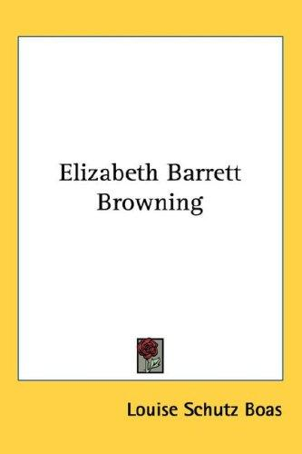 Download Elizabeth Barrett Browning