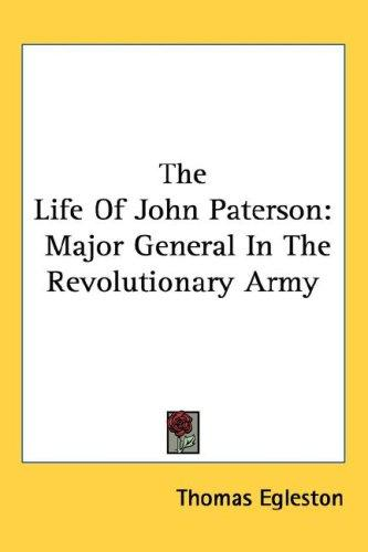 The Life Of John Paterson