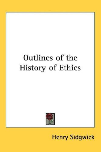 Download Outlines of the History of Ethics