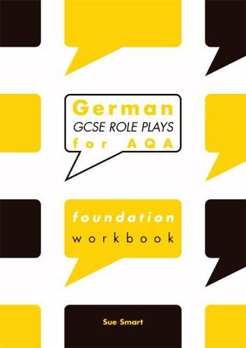 German GCSE Role Plays for AQA