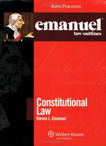 Download Emanuel Law Outlines