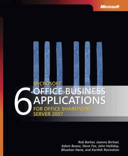 Download 6 Microsoft Office Business Applications for Office SharePoint Server 2007