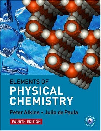 Download Elements of physical chemistry.