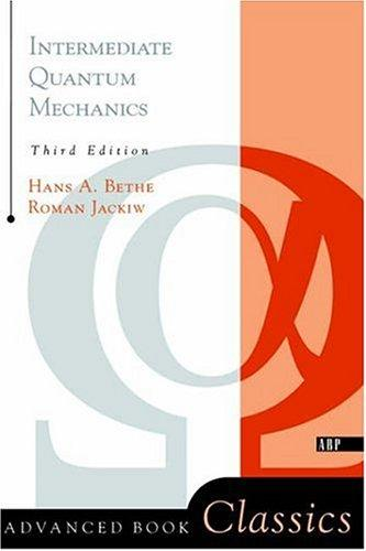 Download Intermediate quantum mechanics