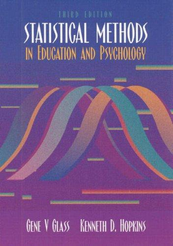 Download Statistical methods in education and psychology
