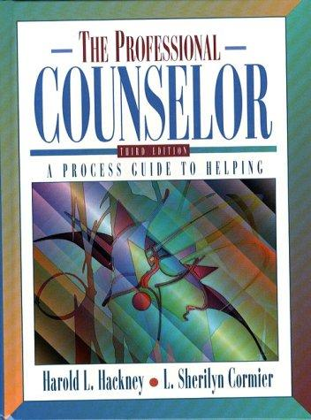 Download The professional counselor