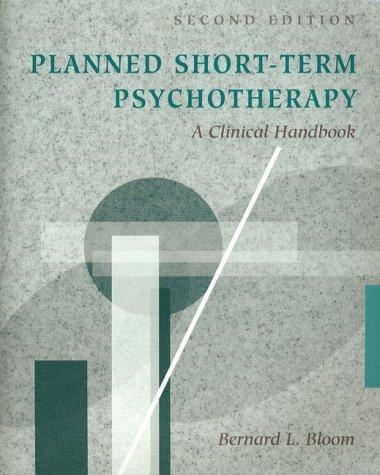 Download Planned short-term psychotherapy