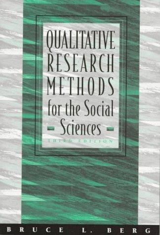 Download Qualitative research methods for the social sciences