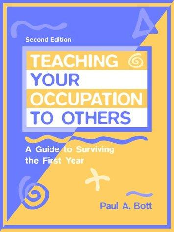 Download Teaching your occupation to others